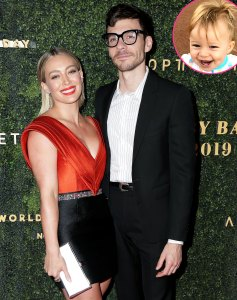 Hilary Duff Matthew Koma Wish Daughter Banks Happy 1st Birthday