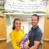 Holly Durst and Blake Julian with Adopted Daughter Poppy
