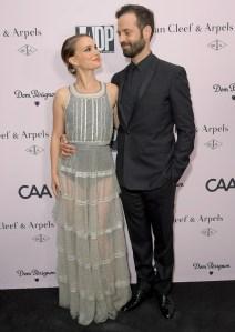 Natalie Portman With Husband Benjamin Millepied