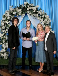 Colton Underwood Officiates Howard and Beth Stern's Impromptu 2nd Wedding on 'The Ellen DeGeneres Show'