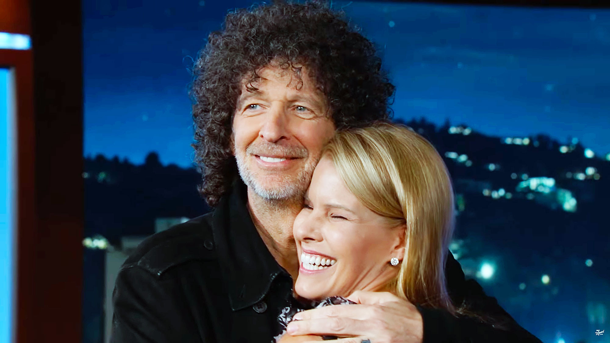 Howard Stern Proposes to His Wife of 11 Years Beth Stern on Jimmy Kimmel Live