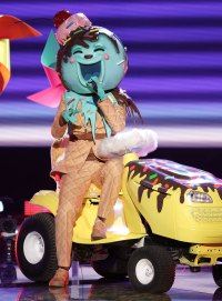 Ice Cream Masked Singer Season 2 Two Costume Dress Up Singing Onstage