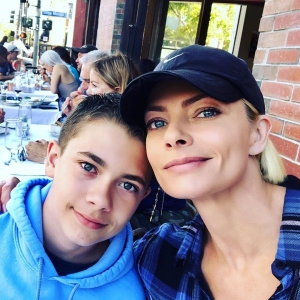 Jaime Pressly Defends Calling 12-Year-Old Son Dezi Her 'Favorite': I Was 'Just Being Honest'