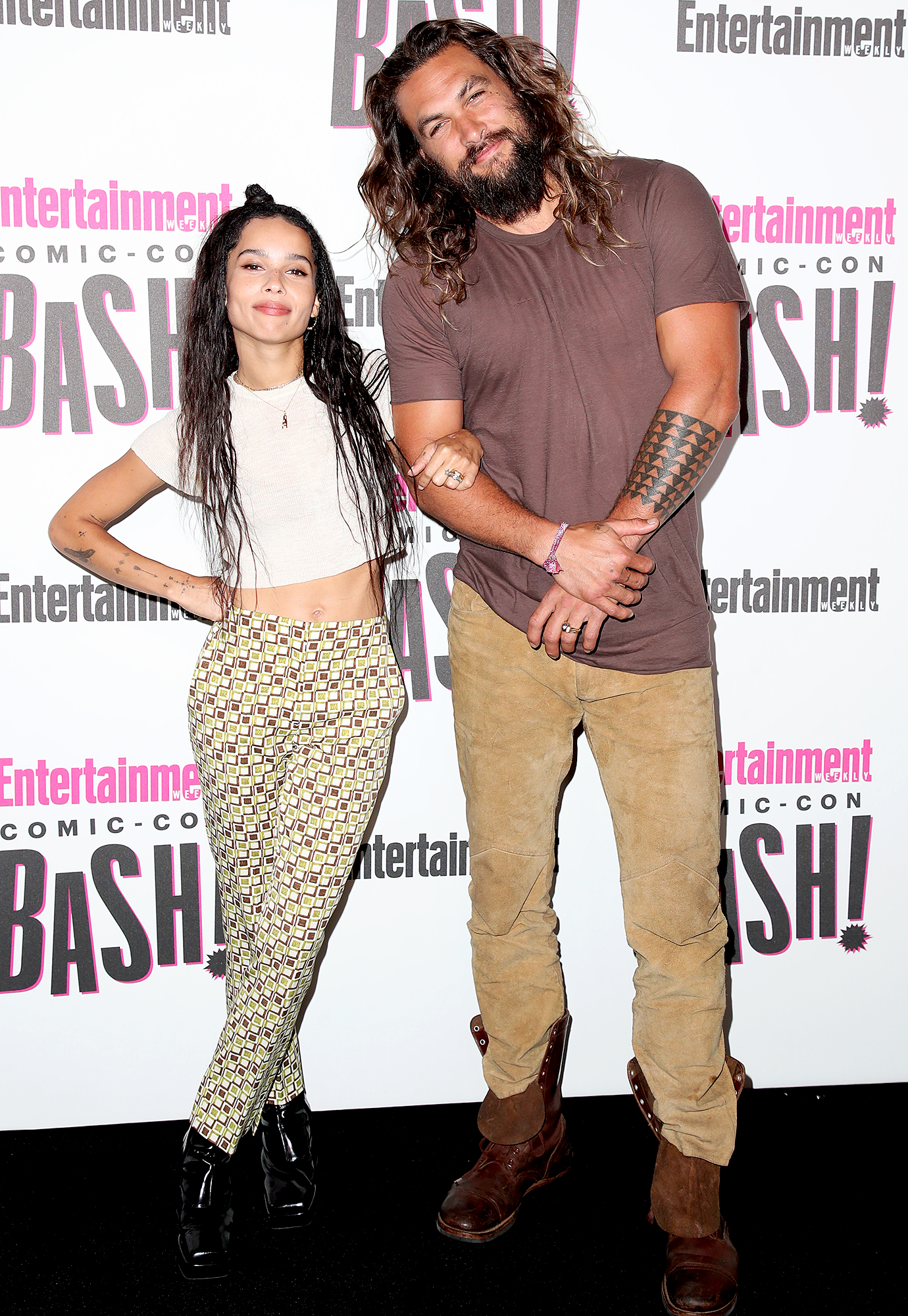 Jason Momoa Congratulates Stepdaughter Zoe Kravitz On