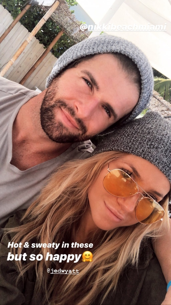 Jed Wyatt Vacations With New Woman Ellen Decker After Hannah Brown Split
