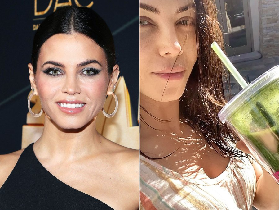 Jenna Dewan Makeup Free Before and After