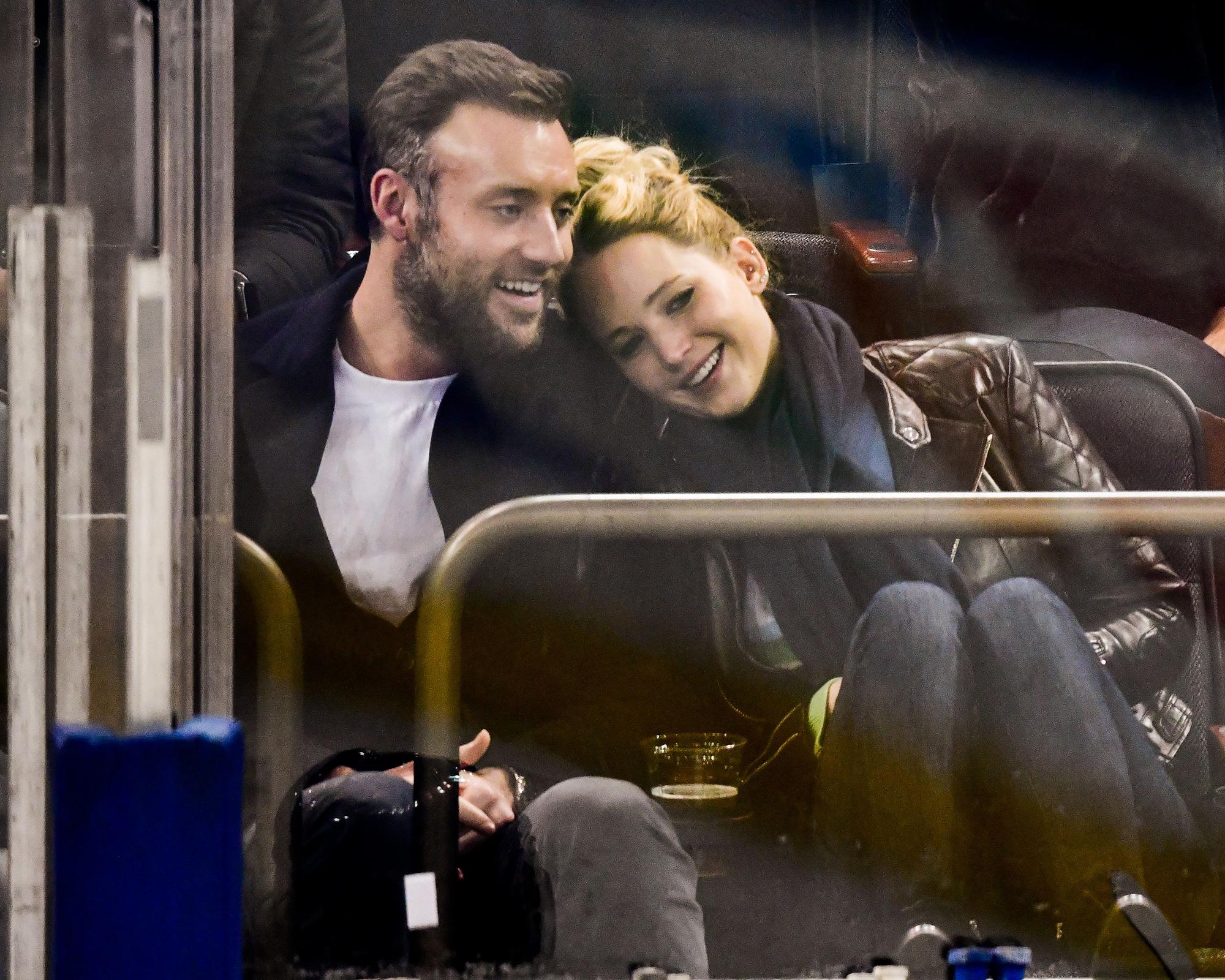 Jennifer Lawrence, Husband Cooke Maroney's Relationship Timeline