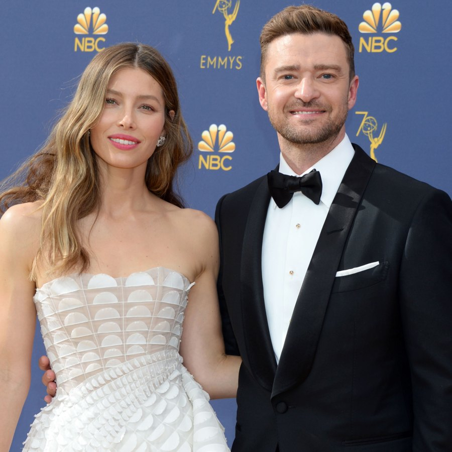 Jimmy Fallon Embarrasses Jessica Biel With 1999 Video of Her Shading Justin Timberlake: 'Not a Huge Fan'