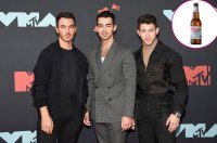 Jonas Brothers Bros Kevin Jonas, Joe Jonas and Nick Jonas Coors Light Beer
