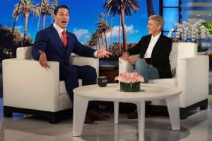 John Cena Calls on 'Ellen' Audience to Raise Money for Veterans
