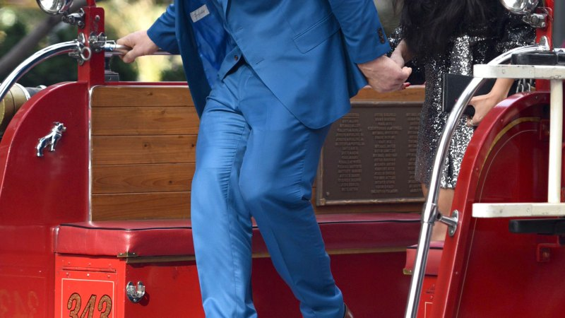 John Cena, Girlfriend Shay Shariatzadeh Make Red Carpet Debut: Pics