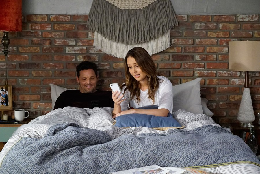 Justin Chambers and Camilla Luddington Grey's Anatomy Recap