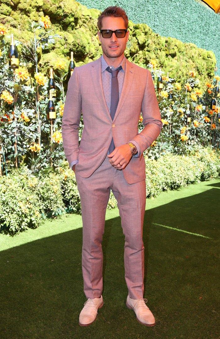 Justin Hartley Sunglasses Veuve Clicquot Polo Classic