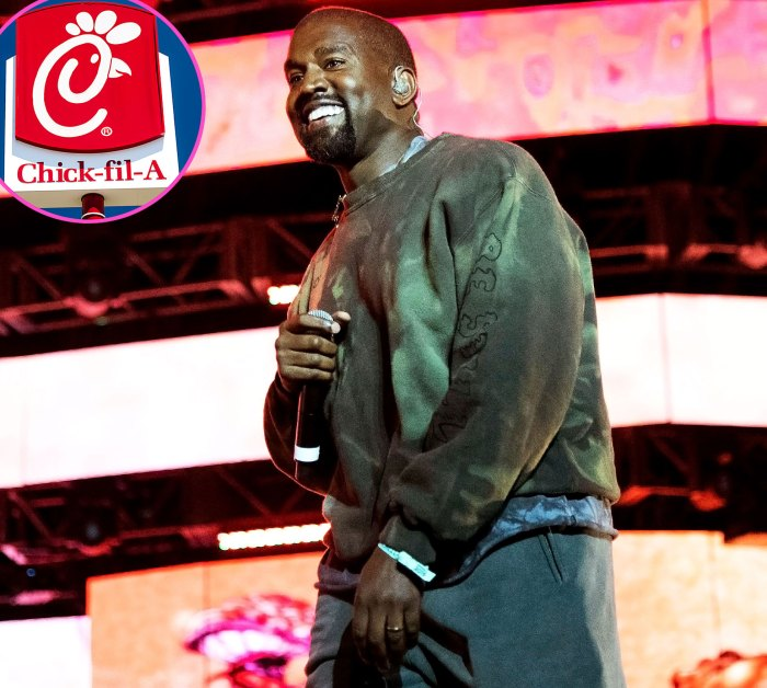Chick-fil-A Tune Kanye West Name Drops Fast-Food Chain New Song