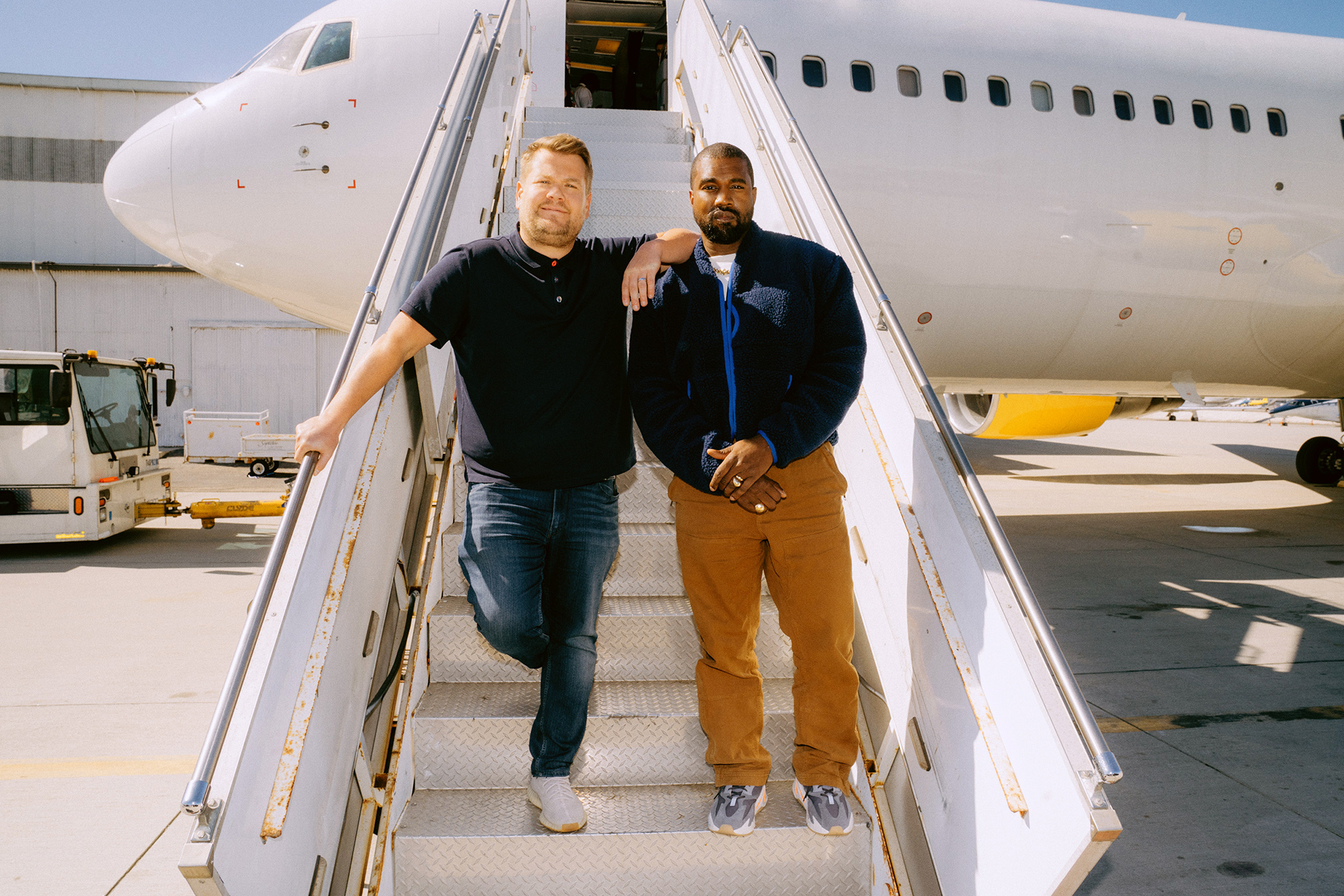 Kanye West and James Corden Carpool Karaoke