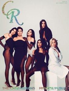 The Kardashians Cover CR Fashion Book Fall/Winter Issue