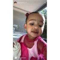 Chicago Tells Kim Kardashian I Love You Mommy