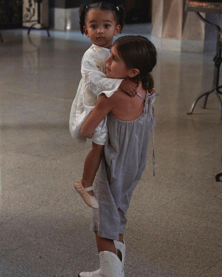 Kardashian Kids Penelope Holds Chicago