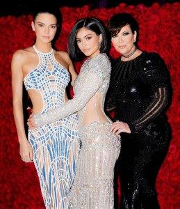 Kendall, Kylie and Kris Jenner Kardashian Kloset Debut