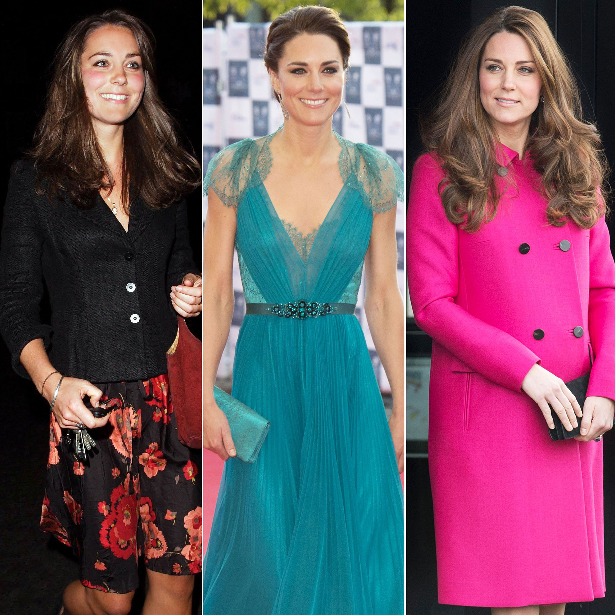 duchess kate s style evolution from university of scotland student to fashion forward princess us weekly duchess kate s style evolution from
