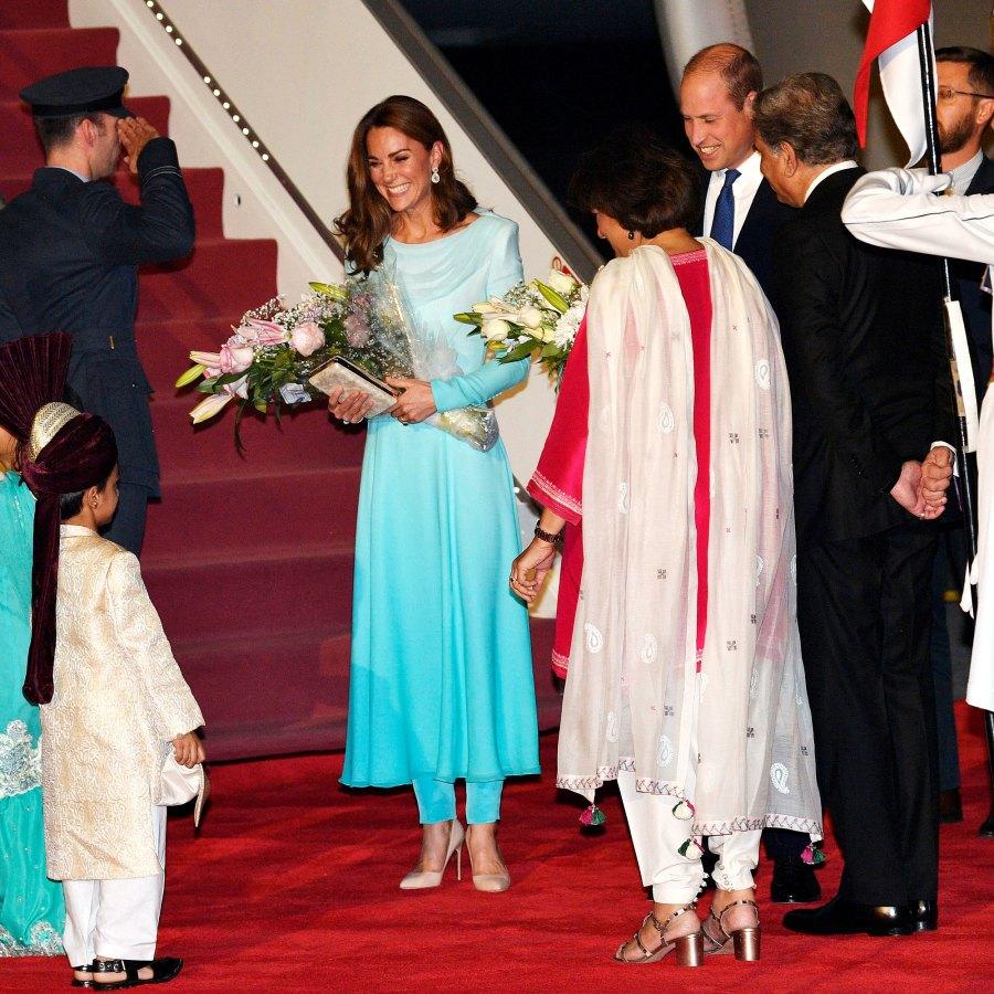 Kate Middleton Prince William Kick Off Their Royal Tour of Pakistan
