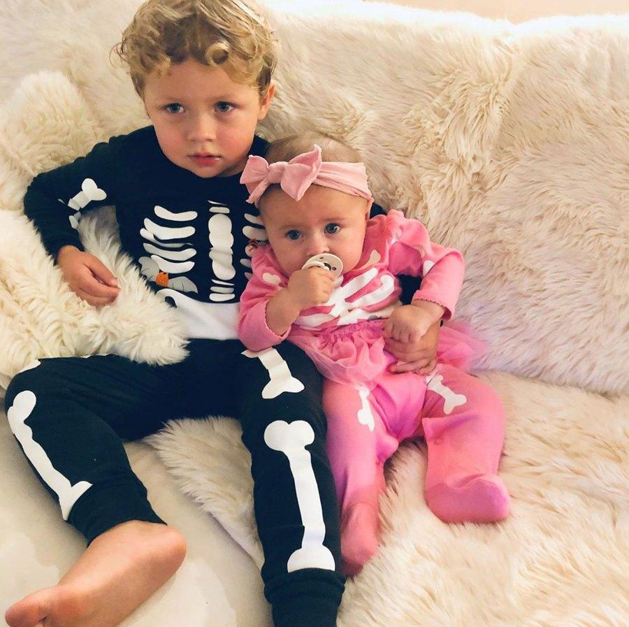 Kayla Lochte Instagram Caiden and Liv Lochte Halloween Costumes