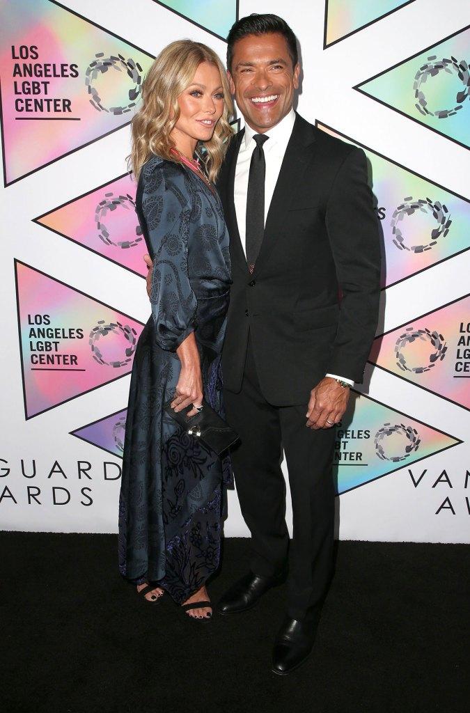 Kelly Ripa and Mark Consuelos 49th Anniversary Gala Vanguard Awards