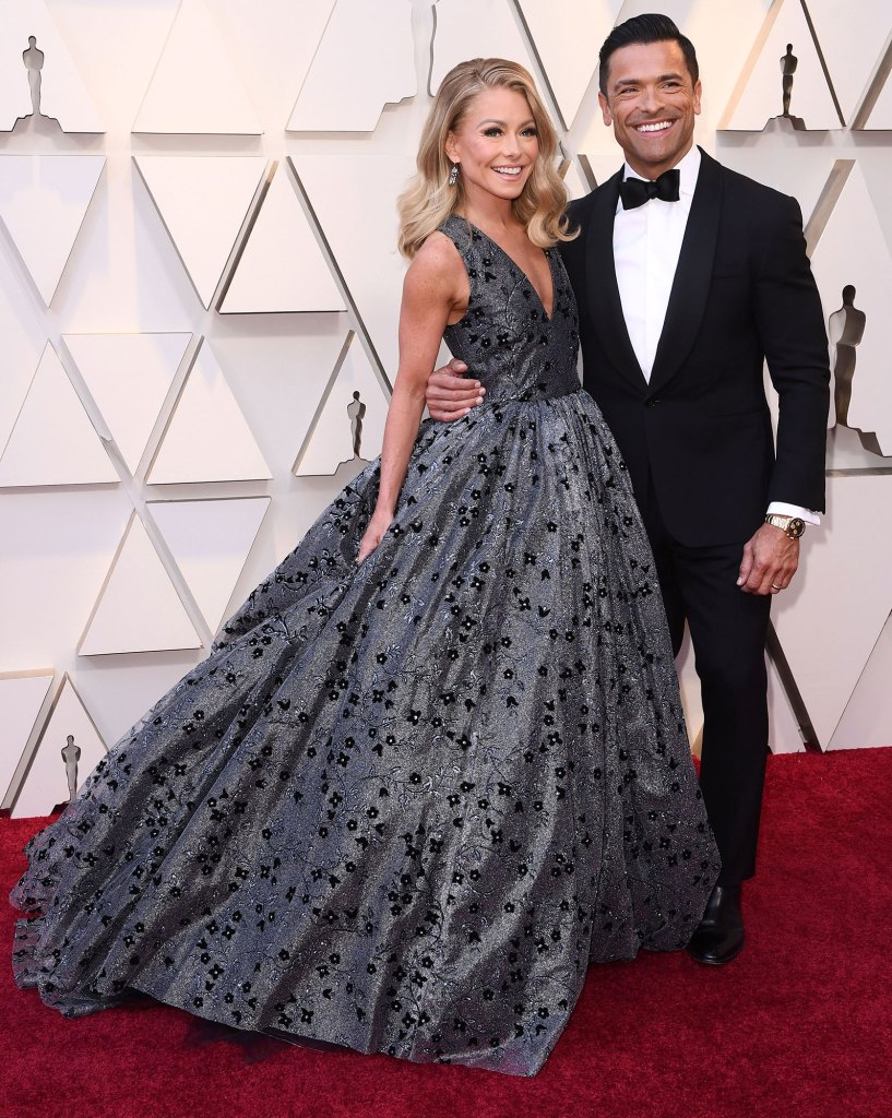 Kelly Ripa and Mark Consuelos 91st Annual Academy Awards