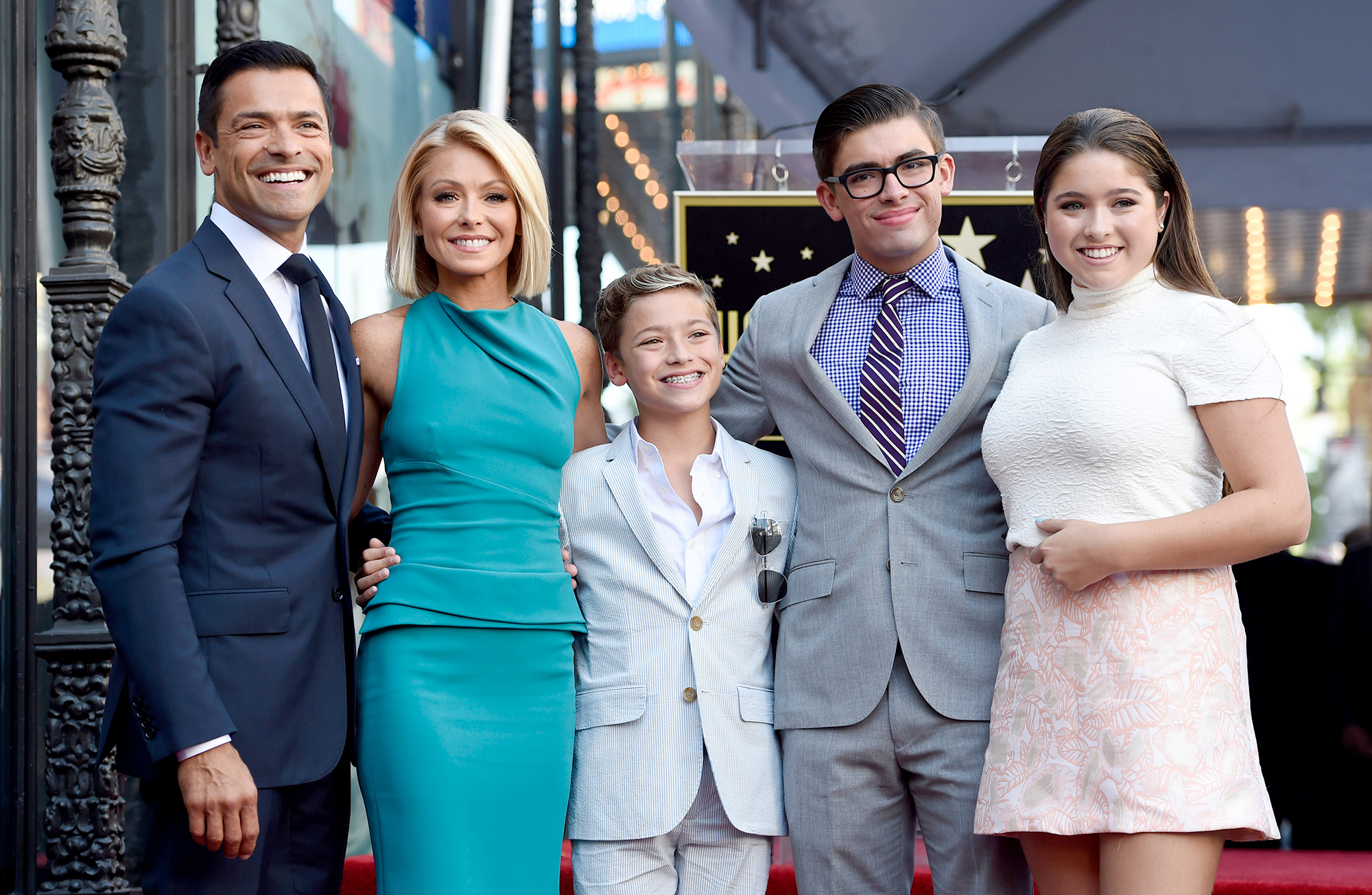 Kelly Ripa and Son Michael, 22, Collaborate on Film School Project
