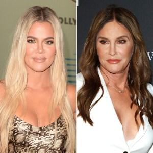 Khloe Kardashian and Caitlyn Jenner Zero Bad Blood