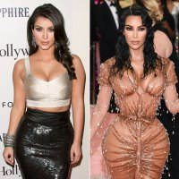 Kim Kardashian's Body Evolution