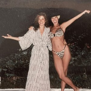 Kris Jenner Is a Total Babe in Kim Kardashian's Throwback Bikini Snap From the '80s