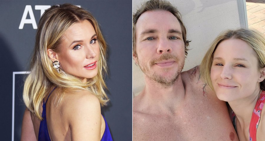 Kristen Bell Makeup Free Instagram Before and After