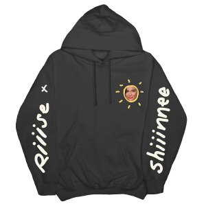 Kylie Jenner Rise Shine Merch Black Hooded Sweatshirt