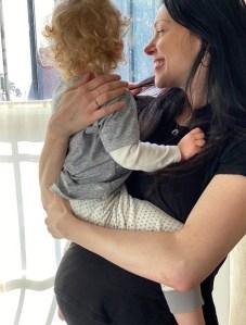 Laura Prepon Pregnant Baby Bump No. 2