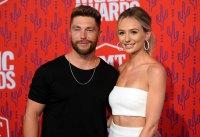 Lauren Bushnell and Chris Lane celebrity weddings 2019