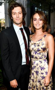 Leighton Meester Snaps a Cute Photo of Adam Brody on the Set of 'Single Parents'