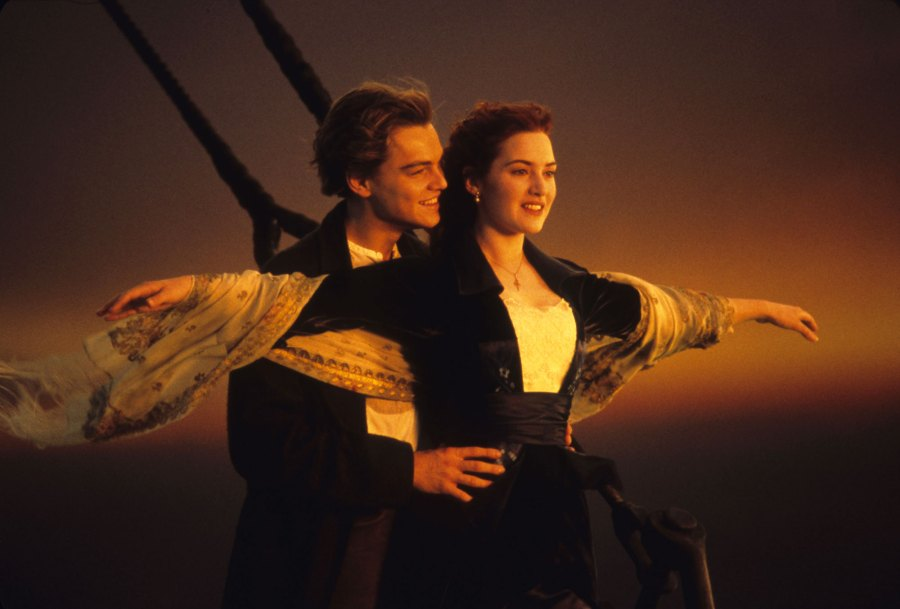 Leonardo Dicaprio, Kate Winslet Titanic