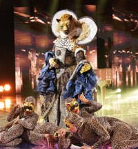 Leopard Masked Singer Season 2 Two Costume Dress Up Singing Onstage