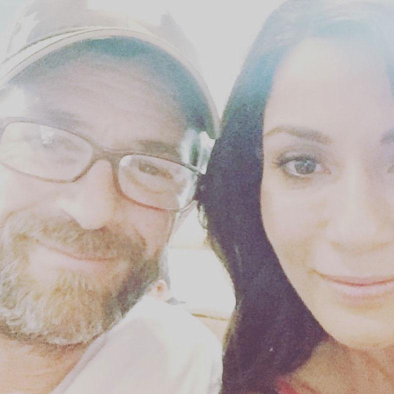 Luke Perry and Marisol Nichols Instagram Selfie Riverdale
