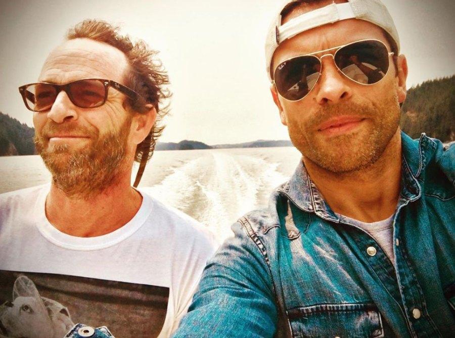 Luke Perry and Mark Consuelos Instagram Selfie Riverdale