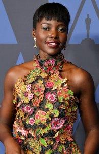 Lupita Nyong'o Getting Ready 2019 Governors Awards