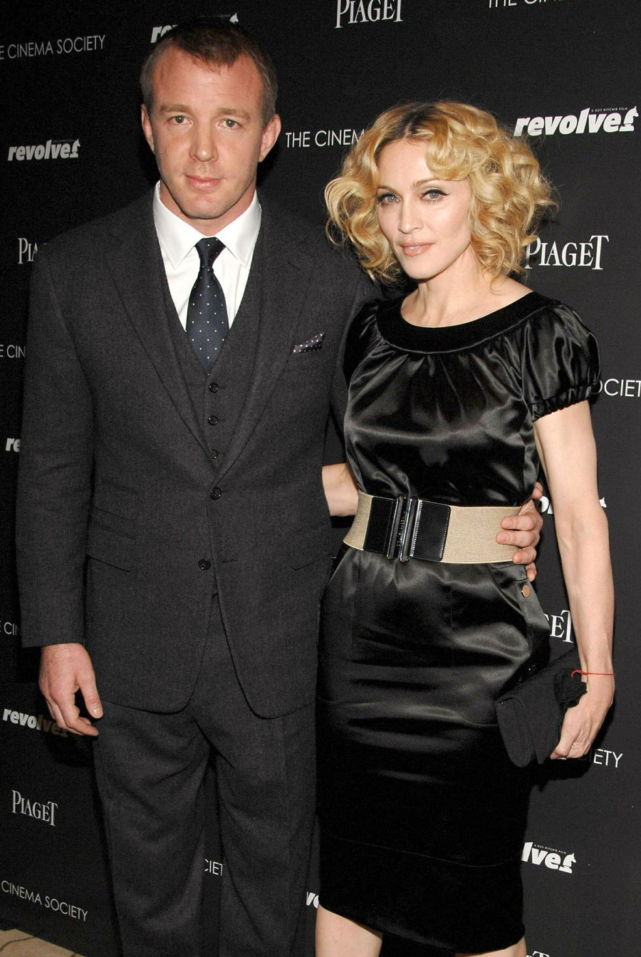 Guy Ritchie and Madonna Hollywoods Ugliest Divorces