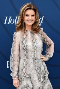 Maria Shriver Stars Evacuate Homes Due to California Wildfires