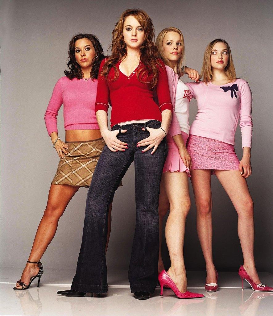Mean Girls Pop Up Lacey Chabert, Lindsay Lohan, Rachel McAdams, and Amanda Seyfried