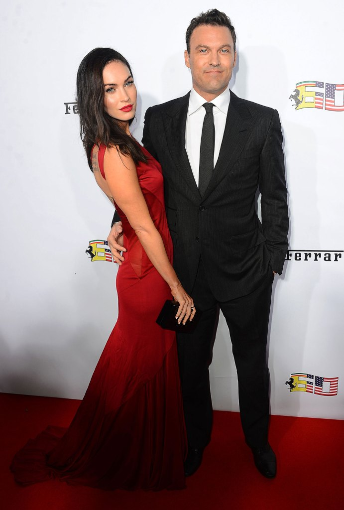 Megan Fox and Brian Austin Green Red Carpet Posts Rare Family Photo