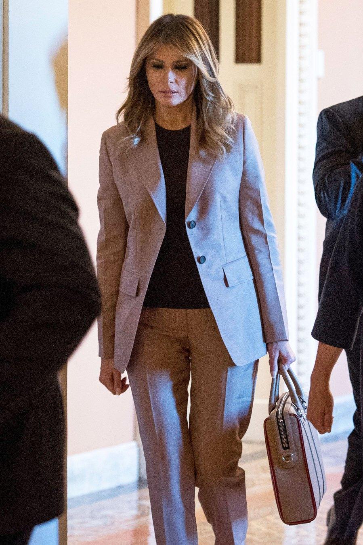 Melania Trump Business Suit October 23, 2019