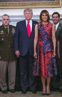 Melania Trump Floral Dress October 7, 2019