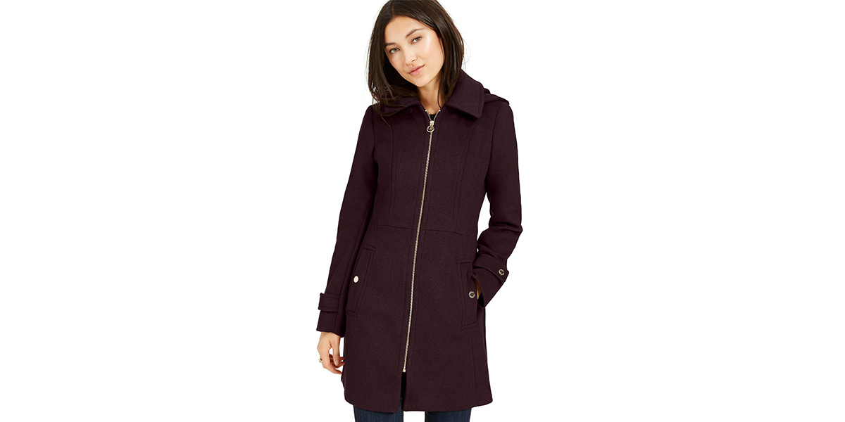 Weather Any Storm in This Chic and Classic Coat That's on Sale at Macy's