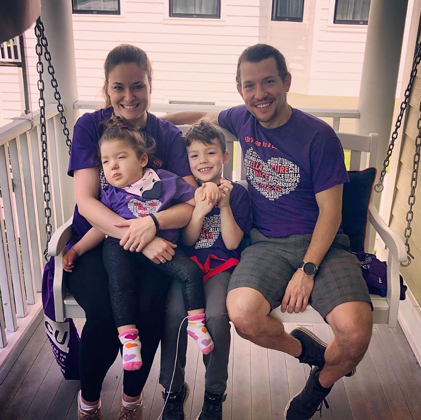 Miguel Cervantes, Kelly Cervantes 3-Year-Old Daughter Adelaide Dies After Epilepsy Battle Instagram Selfie